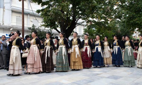 Χορευτικό του λυκείου Ελληνίδων Βέροιας