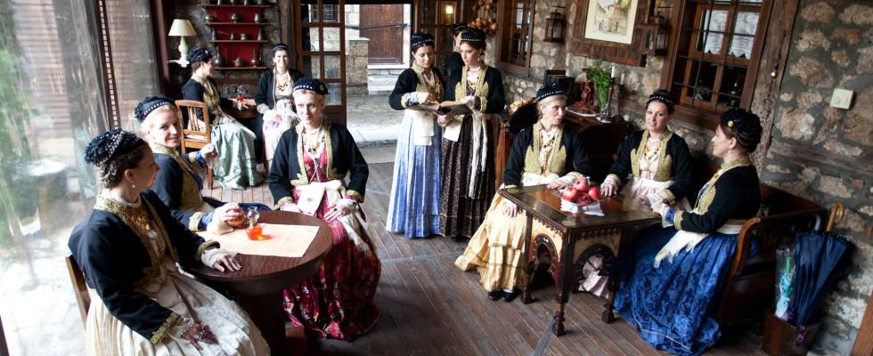 Σε παραδοσιακό Βεροιώτικο καφενείο