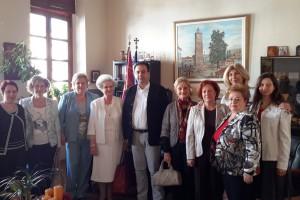 Επίσκεψη του Λυκείου Ελληνίδων της Βέροιας στον Δήμαρχο Βέροιας