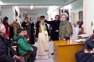 Επίσκεψη του 7ου Δημοτικού σχολείου Βέροιας στην Ιματιοθήκη του Λ.Ε.Β.