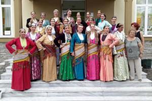 Το Λυκειο των Ελληνίδων Βέροιας στο Αρχαίο θέατρο του Δίον