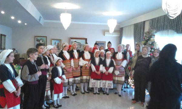 Το Λύκειο των Ελληνίδων Βέροιας στο Γηροκομείο της πόλης.