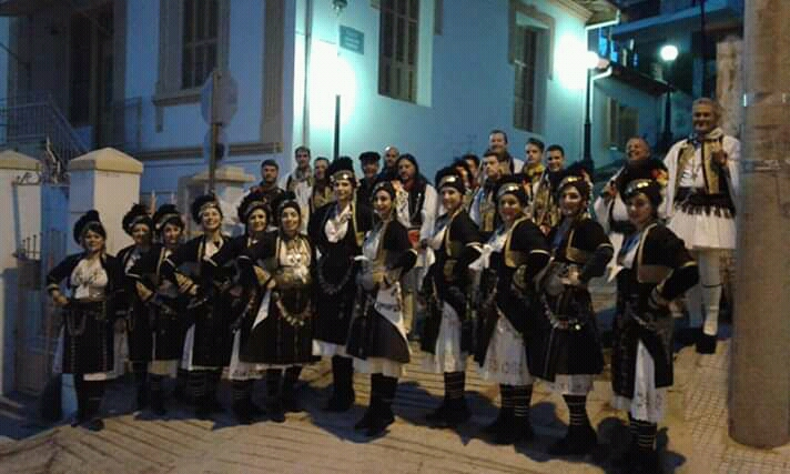 Το Λύκειον Ελληνίδων της Βέροιας σε εκδήλωση στο Κιλκίς.
